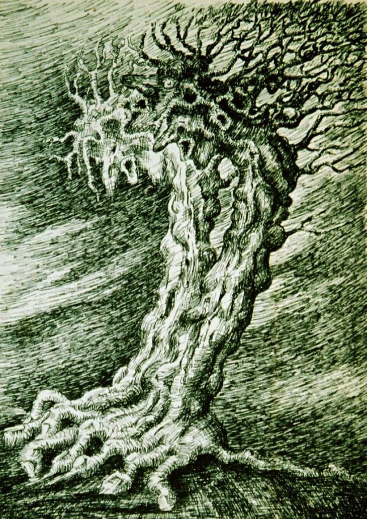 2 snakkende trær